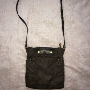 Gray Marc Jacobs Crossbody Purse